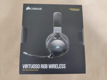 Corsair VIRTUOSO RGB Wirelessのレビュー!クリアなマイクのワイヤレスゲーミングヘッドセット