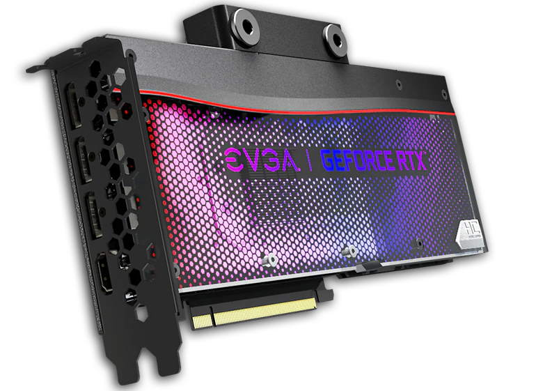 EVGA RTX 3090 HYDRO COPPERのカード画像