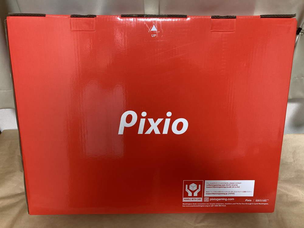 Pixio PX279 Prime(PX279P)のパッケージ