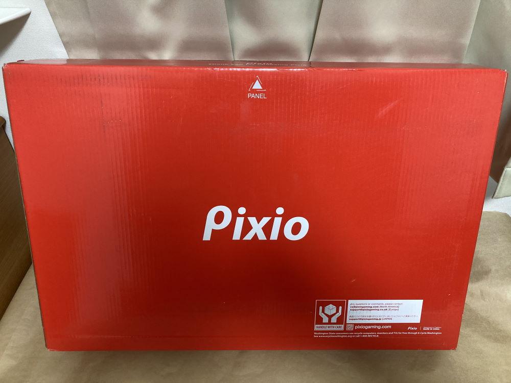 Pixio PXC327のパッケージ