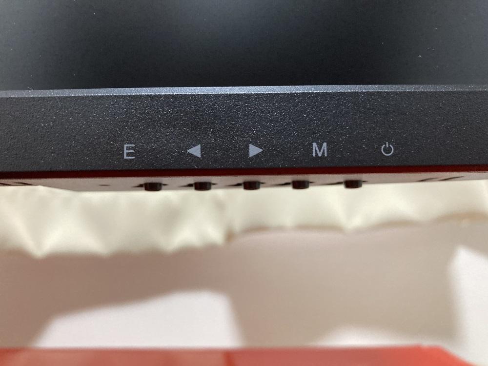 Pixio PX259 Primeの操作ボタン