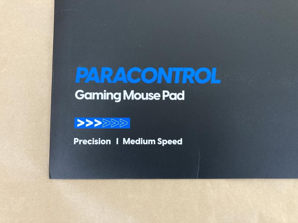 Pulsar PARACONTROLパッケージ左下の速度表示