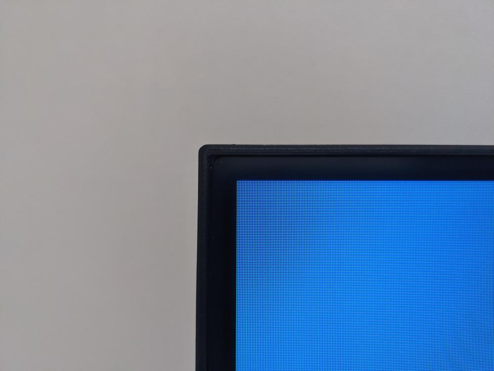 Pixio PXC325の表示領域(左上)