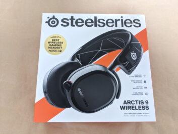 SteelSeries Arctis 9 Wirelessのレビュー!デュアルワイヤレス対応のゲーミングヘッドセット